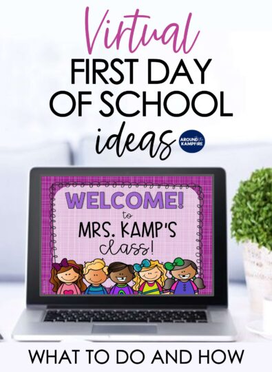 Virtual First Day of School Activities - What To Do and How