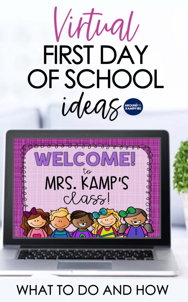 Virtual first day of school activities article
