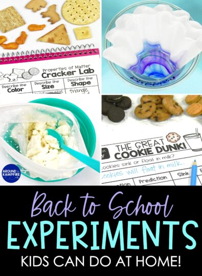 Back to School Science Experiments Kids Can Do At Home
