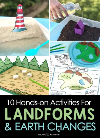 10 Hands-On Activities for Teaching Earth Changes & Landforms