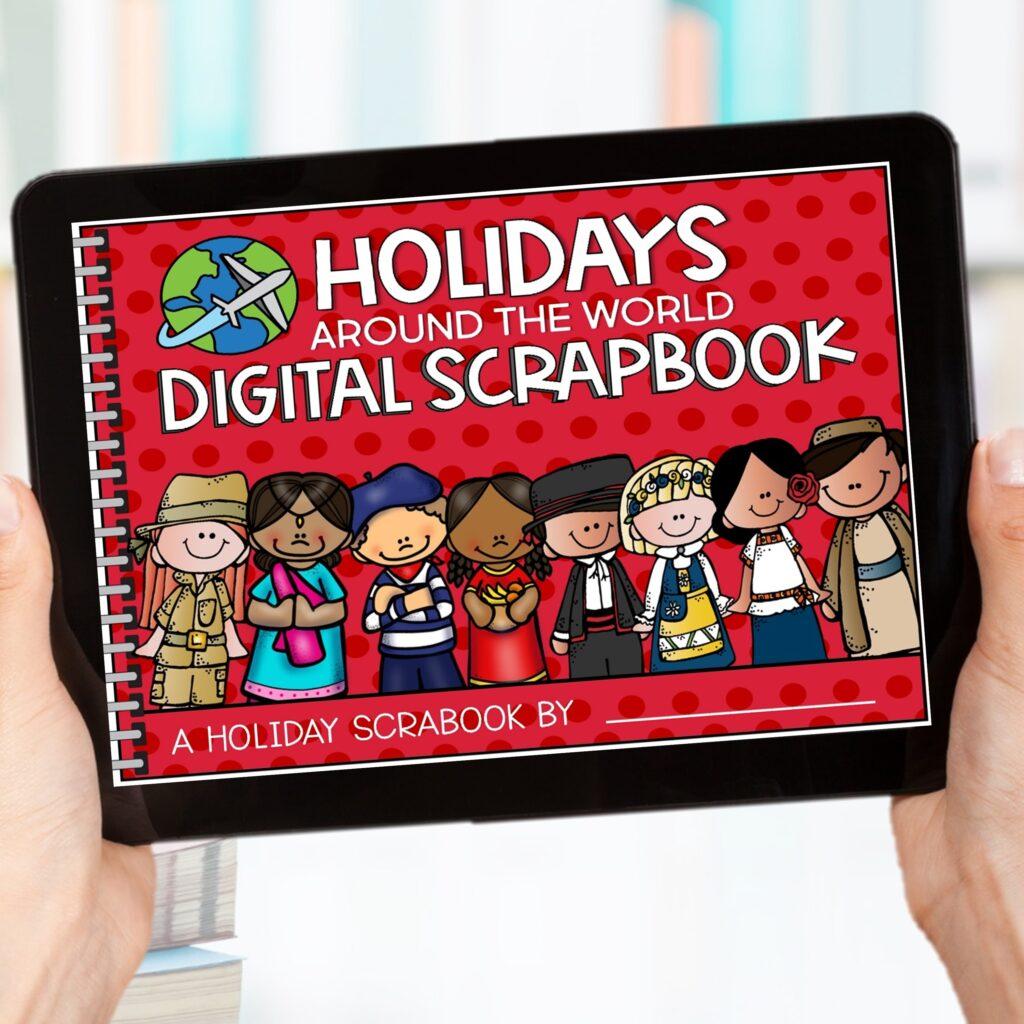 holidays around the world digital scrapbook