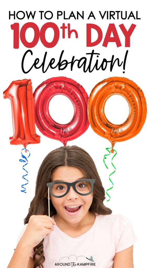 Virtual 100th day of school activities