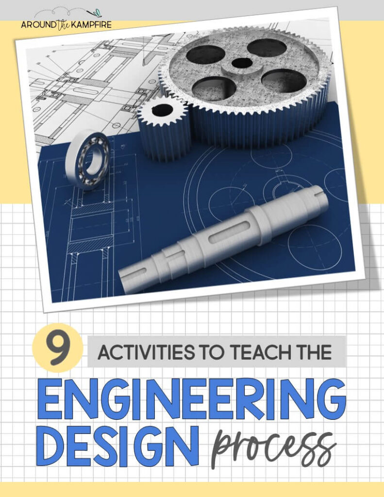 article cover-activities to teach the engineering design process for kids