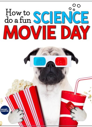 Free science movie day printables
