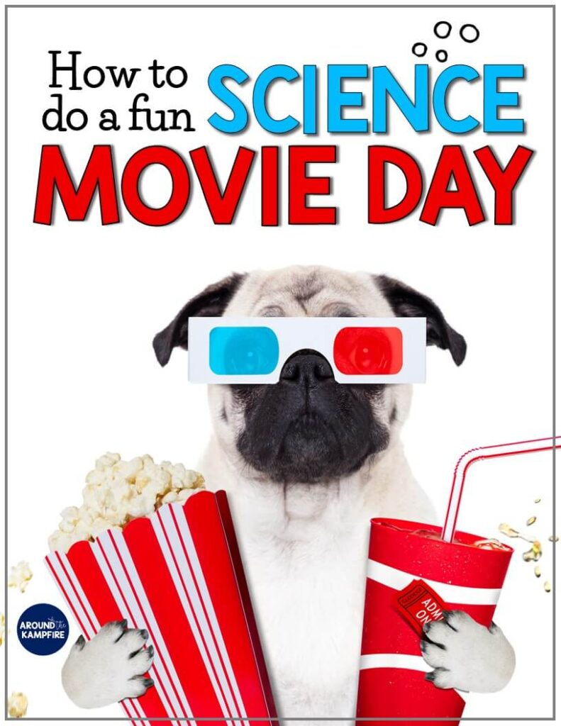 Free science movie day printables