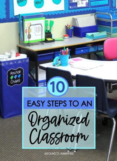 10 Easy Steps to an Organized Classroom