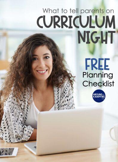 Curriculum Night Powerpoint Ideas blog post