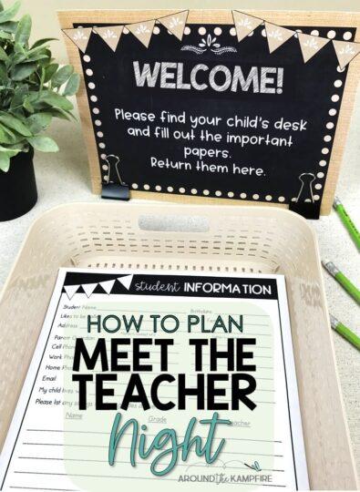 How to Plan a Stress-Free Meet the Teacher Night