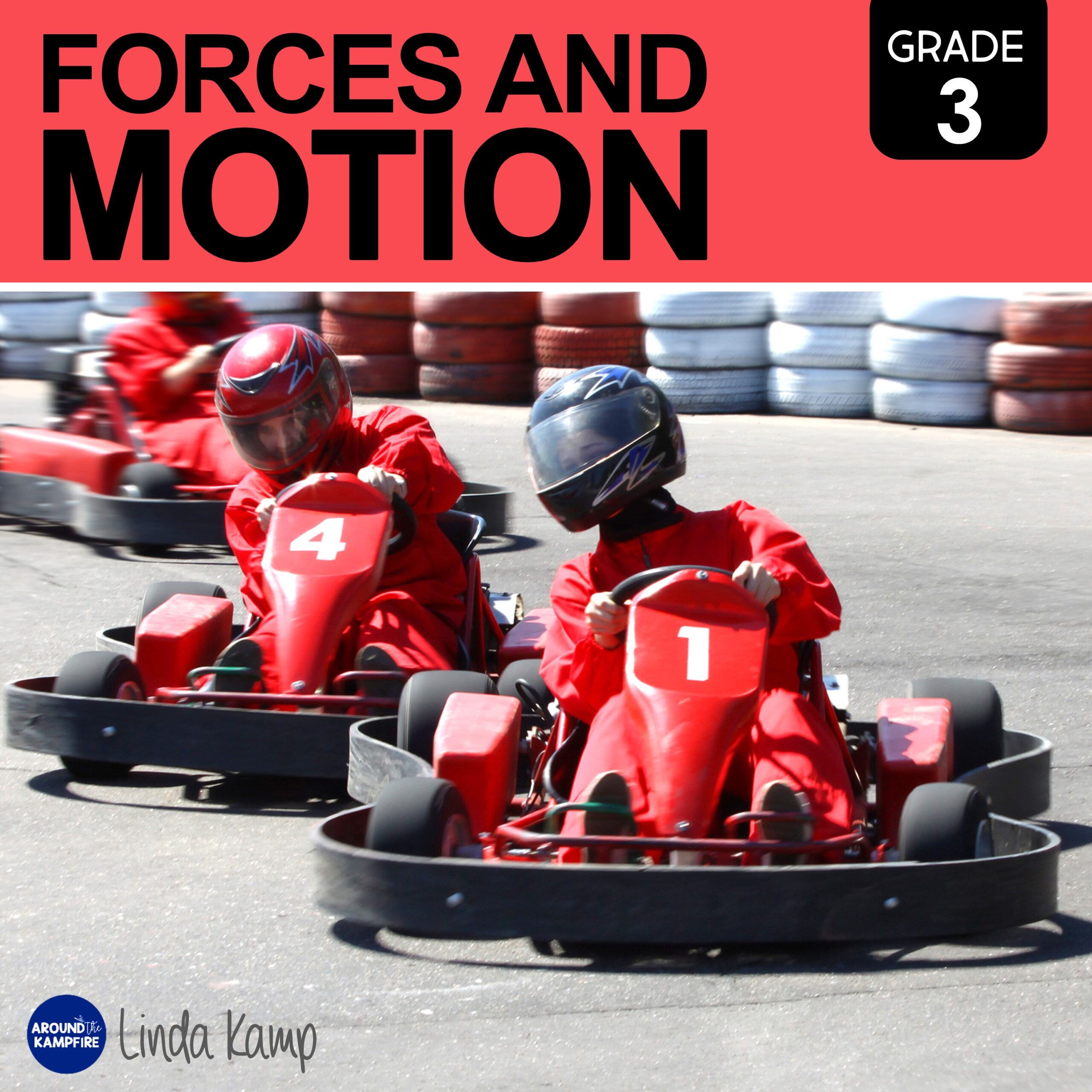 Forces and motion third grade science unit