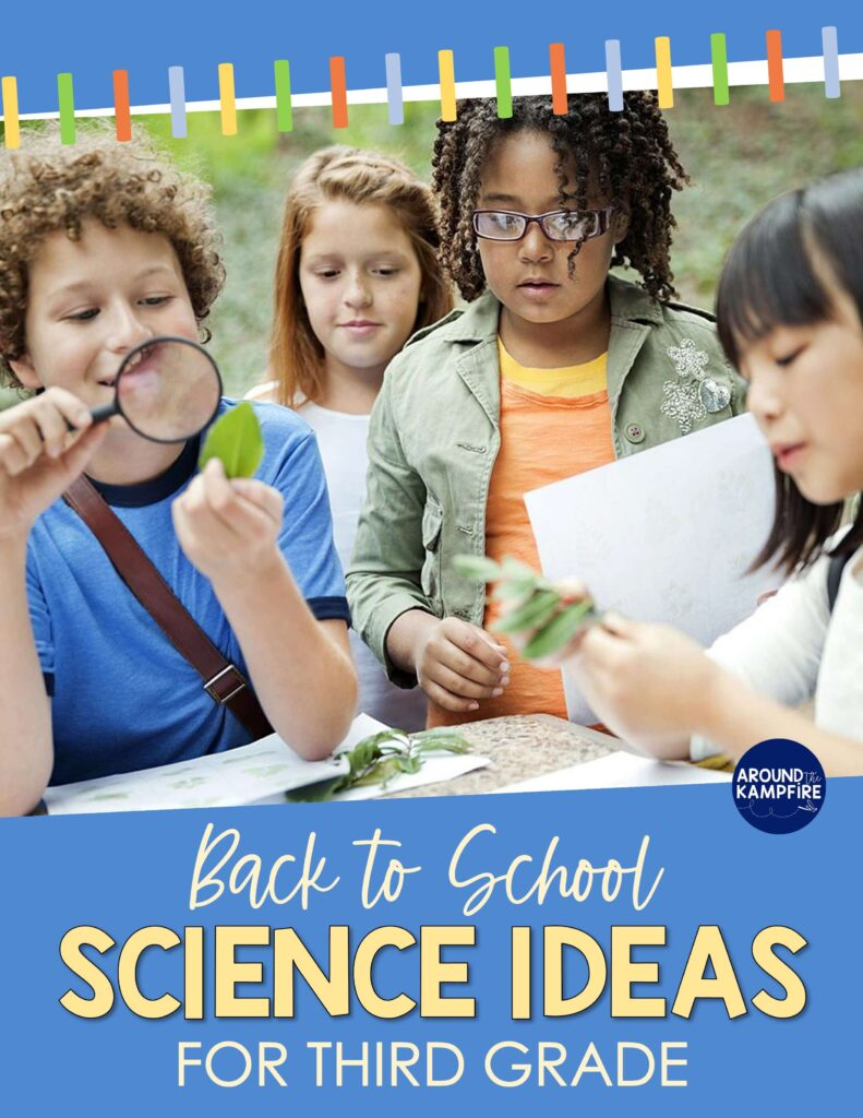 article with back to school third grade science activities