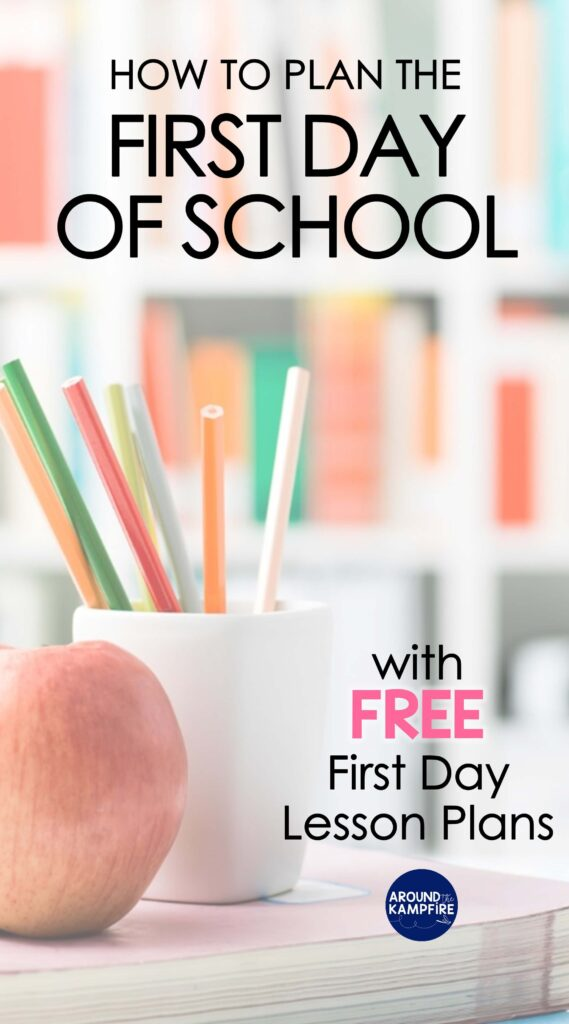 How to plan the first day of school article