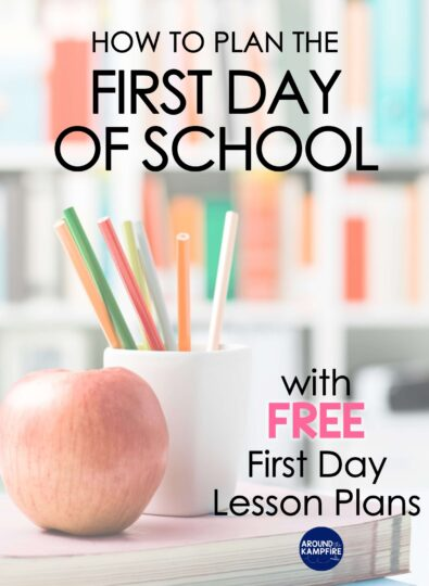 How To Do First Day of School Lesson Plans