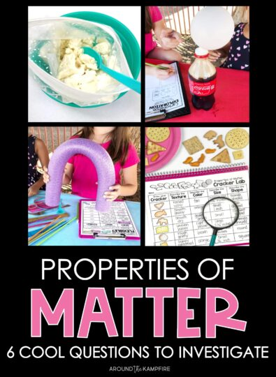 Properties of Matter Science Experiments for Second Grade