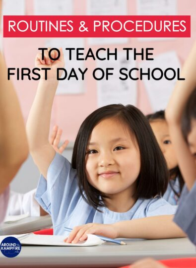 10 Classroom Routines and Procedures to Teach Right Away