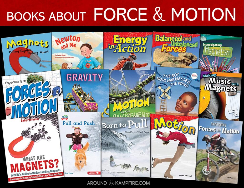 Books about forces and motion