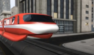 Maglev train video