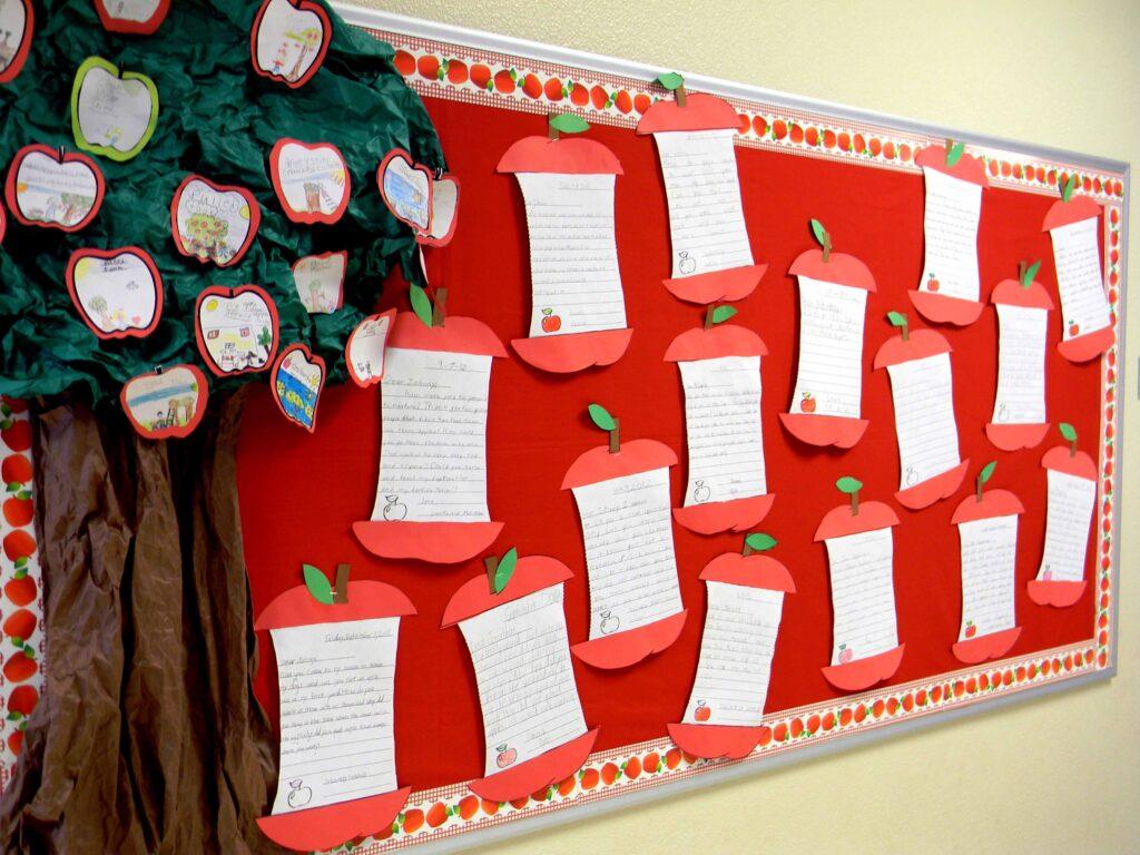 apple tree bulletin board
