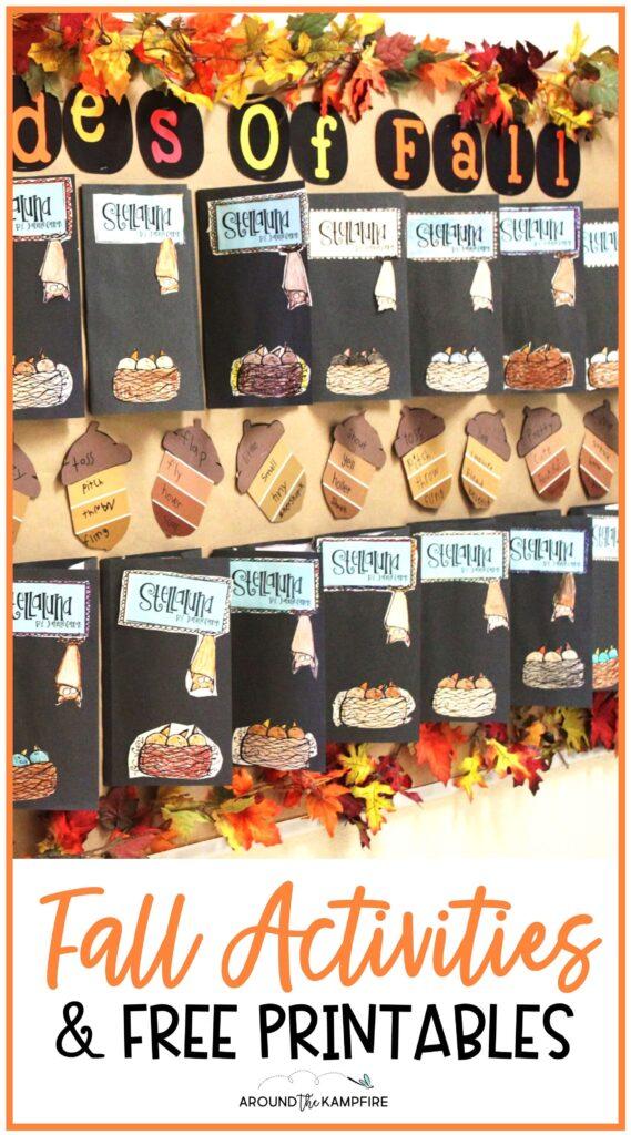 Fall reading & writing activities